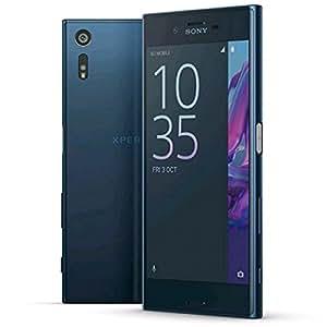Sony Xperia XZ Dual SIMフォレストブルー F8332 [並行輸入品]