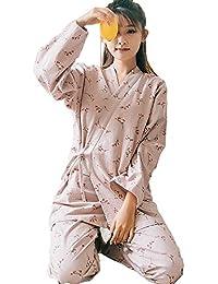 パジャマ メンズ パジャマ 女性 前開き 長袖 寝間着 寝巻 オールシーズン ナイトウェア 綿100 甚平 浴衣 上下セット