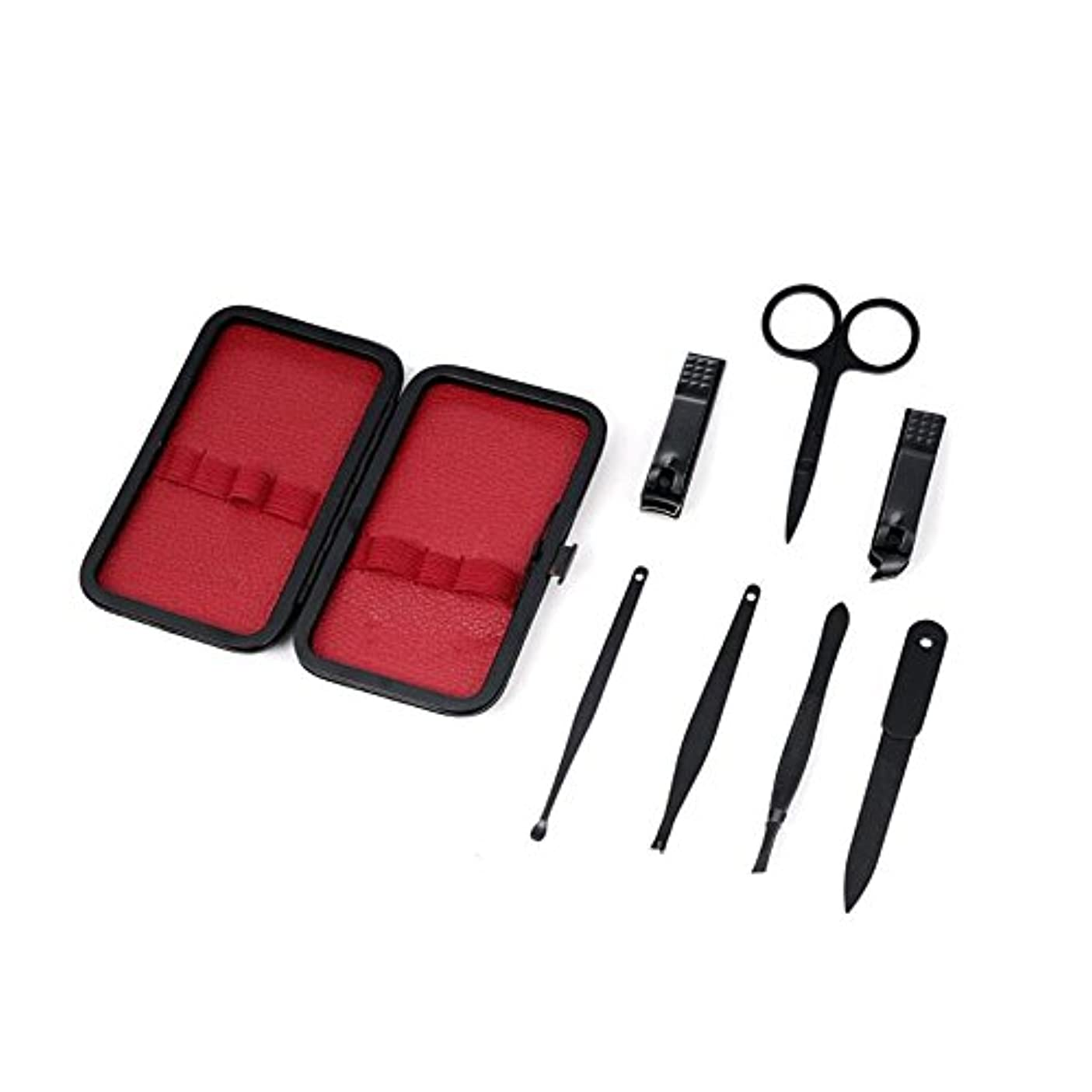 匹敵します割る研磨1stモール 爪切りセット 7点セット ネイルケア フルセット 携帯 便利 グルーミング キット ステンレス製 つめきり ST-BOYS2MEN