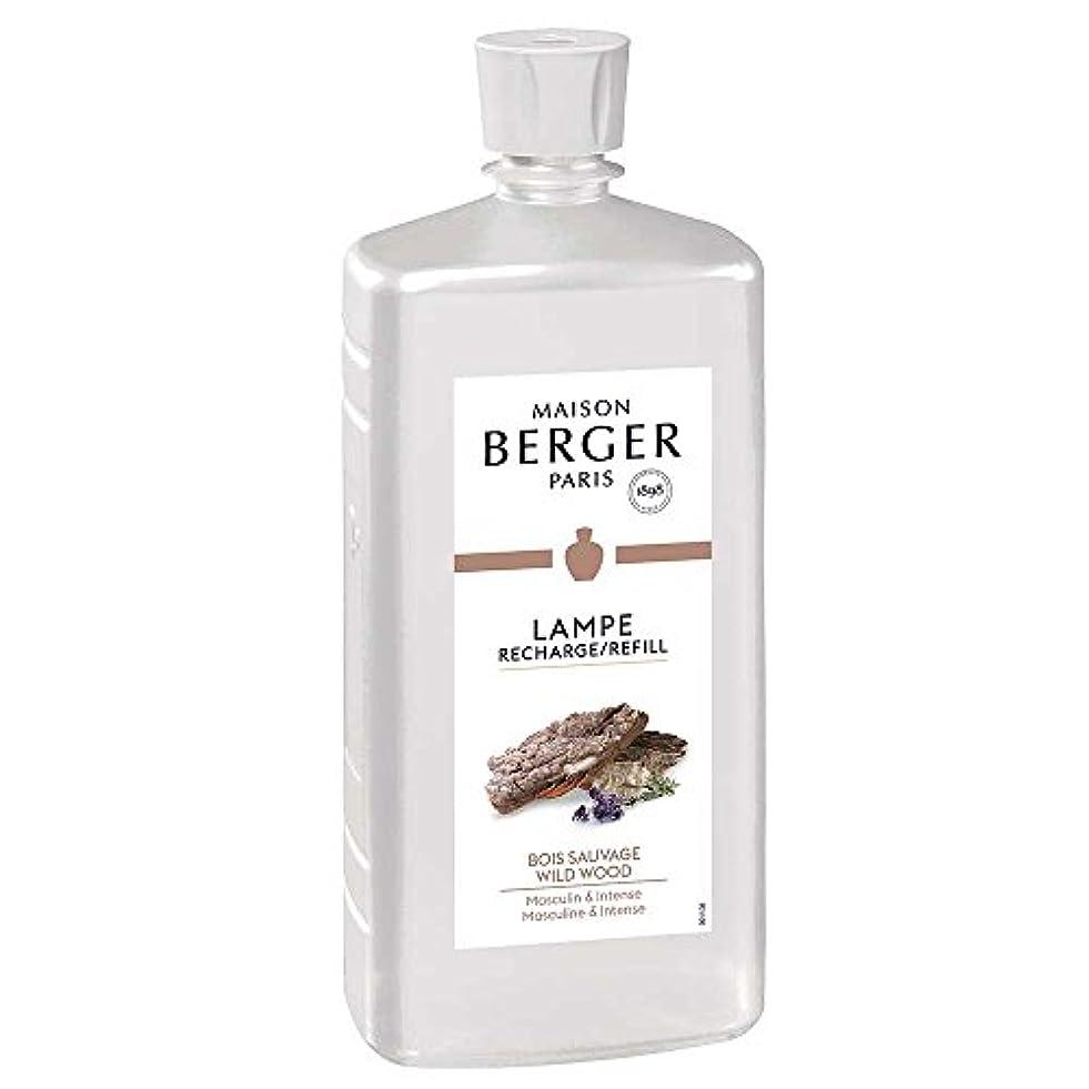 受取人ばかげたあなたが良くなります◆メゾンベルジェ パリ?パフュームアロマオイル1L ワイルドウッドの香り(パチュリ、ホワイトシダーなどで男らしさを再現したウッディー系)正規輸入品MAISON BERGER PARIS lampe berger paris...