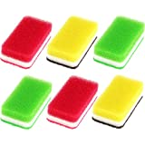 ダスキン 台所用スポンジ 3色 6個セット 個装 使い方ガイド付 食器用スポンジ