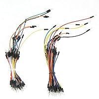 FidgetGear 130pcs Jumper Wire Cable male/female/male Arduino PI PIC Breadboard DifferSizes