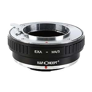K&F Concept レンズマウントアダプター KF-EXAM43 (エキザクタマウントレンズ → マイクロフォーサーズマウント変換)