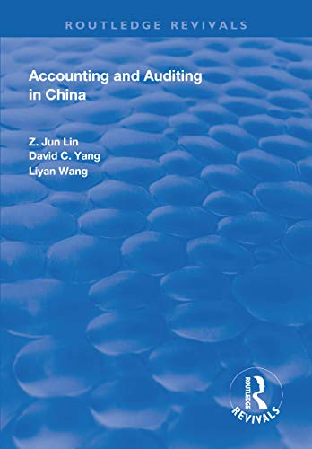Accounting and Auditing in China (Routledge Revivals) (English Edition)