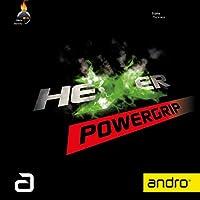 andro(アンドロ) 卓球 裏ソフトラバー スピン系テンション ヘキサー パワーグリップ 112297
