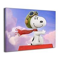 淳楽 Snoopy 映画 アートパネル 壁飾り 部屋飾り インテリア 壁画 芸術 飾り おしゃれ 流行る 装飾画 現代アート 芸術画 シャレモノ 枠なし アートフレーム アート パネル 絵 壁画