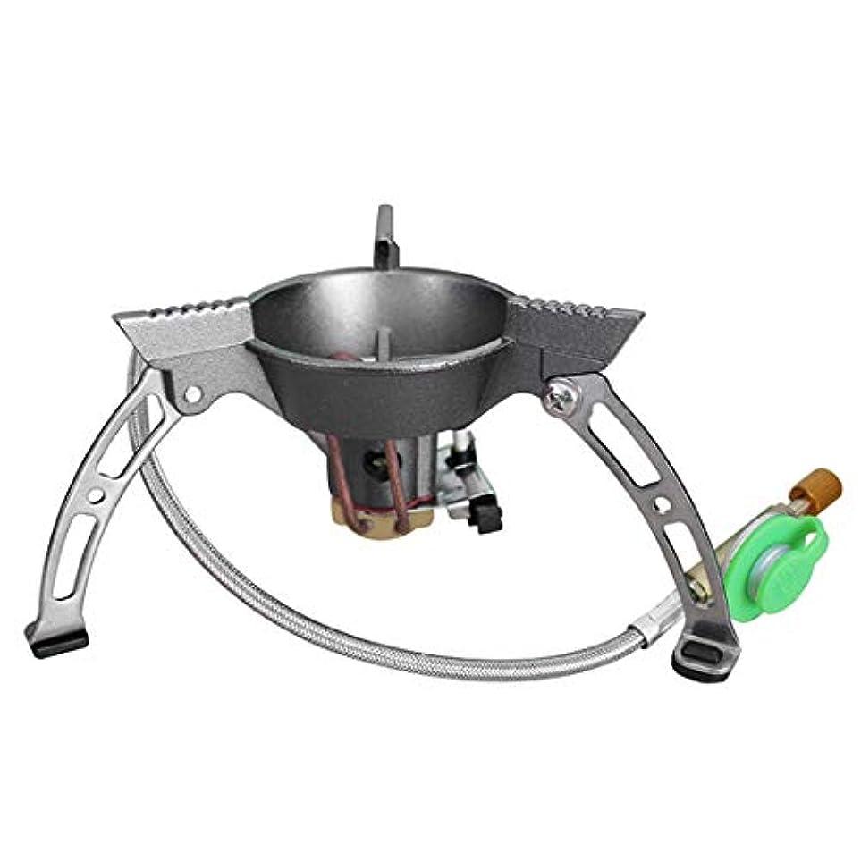 規範経験的位置するLilyAngel 防風ポータブル折りたたみ炉屋外キャンプ調理炉ブタンバーナー分割型バーナー (サイズ : One size)