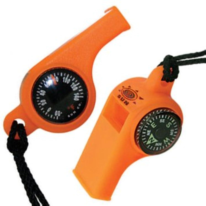 調べる第まもなくトリプルホイッスル 温度計&コンパス付き [並行輸入品]