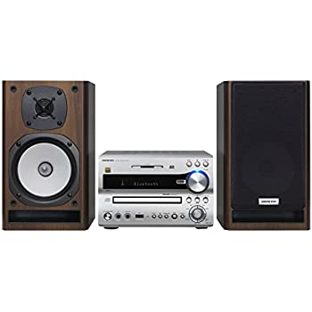 ONKYO Bluetooth/ CD/SD/USB/ハイレゾ対応 ミニコンポ シルバー X-NFR7TX(D)