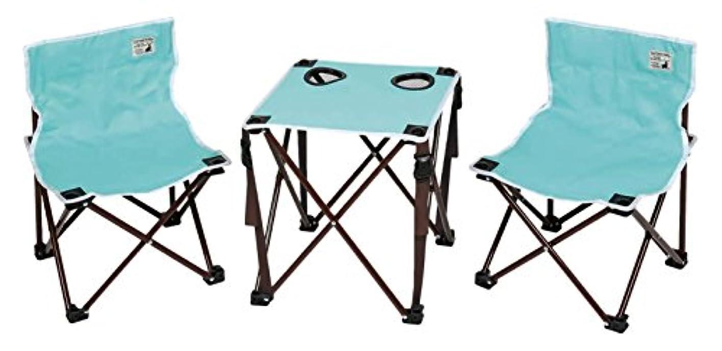 り耐えるの中でキャプテンスタッグ(CAPTAIN STAG) アウトドア チェア テーブル コンパクト テーブル チェア セット CSシャルマン