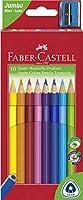 Faber castell-jumbo三角形色鉛筆–10