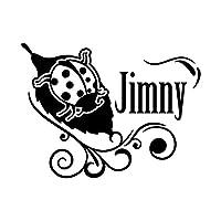 てんとう虫 Jimny ジムニー カッティング ステッカー ブラック 黒