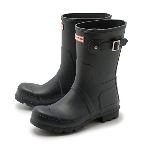 ハンターブーツ(HUNTER・レインブーツ)オリジナルショート 長靴 ブラック 他 (HUNTER BOOT W23577 ORIGINAL SH 03.ネイビー UK9.0(28cm) [並行輸入品]