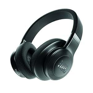 JBL E55BT Bluetoothヘッドホン 密閉型/オーバーイヤー/マイク付 ブラック JBLE55BTBLK 【国内正規品】