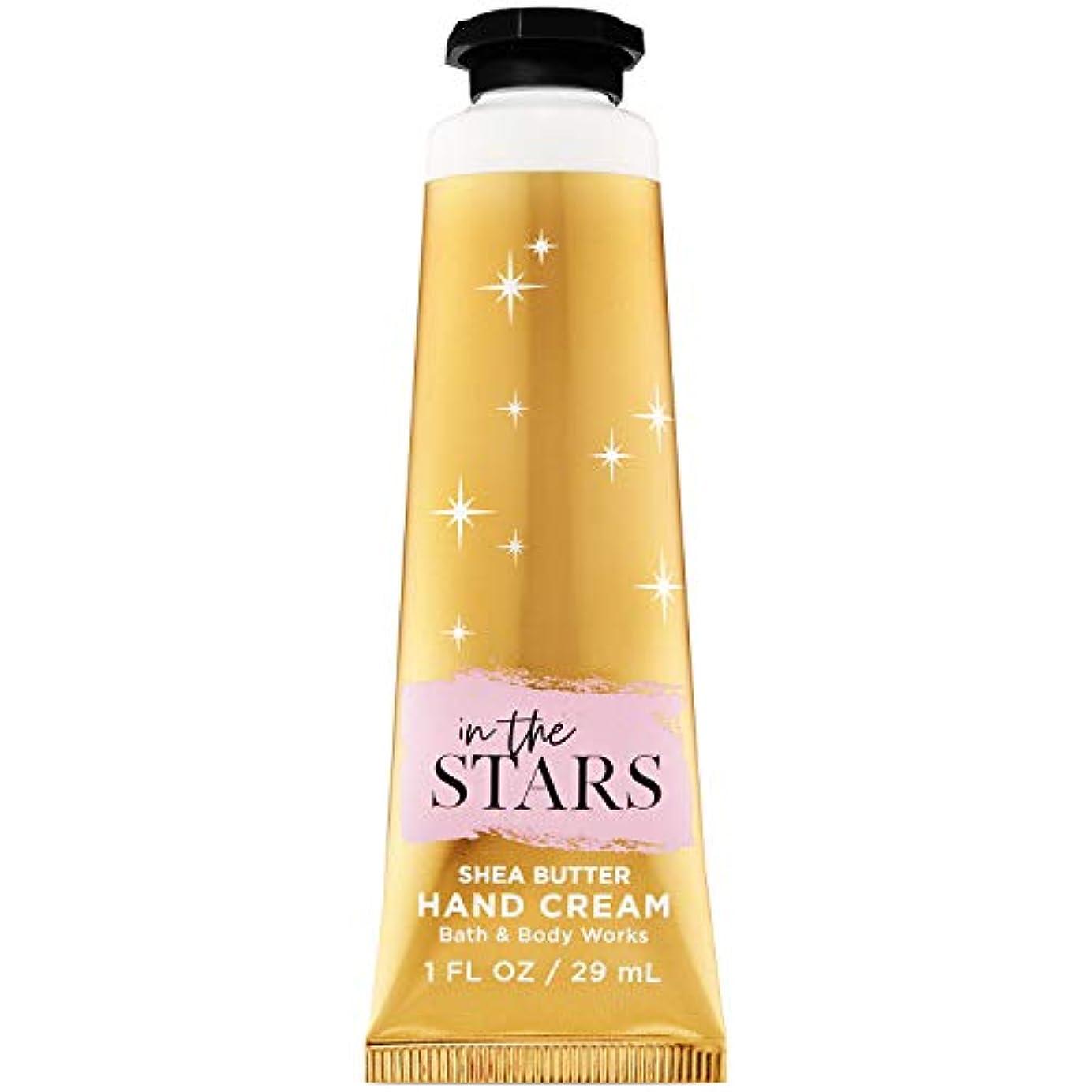 スモッグ透過性ジャムバス&ボディワークス イン ザ スター ハンドクリーム In the Stars Hand Cream