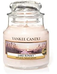 Yankee Candle Lake Sunset Small Jar Candle, Fresh Scent by Yankee Candle [並行輸入品]