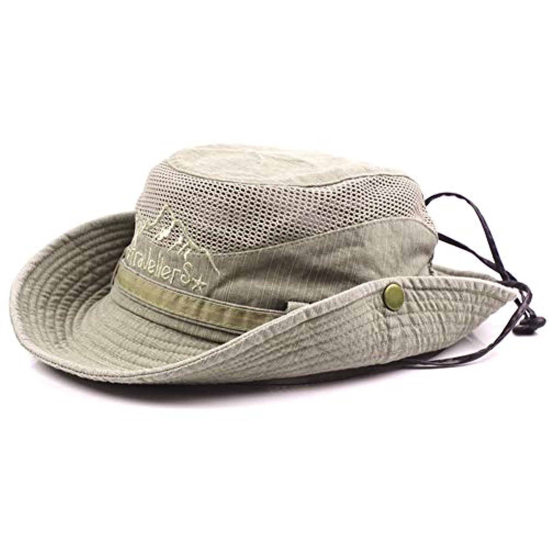 ギネスよろめく先にCreamCat サファリハット メンズ レディース 帽子 防水 通気 速乾 軽薄 折りたたみ アウトドアハット 日除け アウトドア 釣り ハイキング 登山