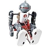 TAYUNOBU 人型ロボット 起き上がるマン おもちゃ 組み立て 電池式 大人も遊べる 癒やし 自由研究 科学 実験