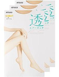 (アツギ)ATSUGI ストッキング ASTIGU(アスティーグ) 【透】 エアータッチ ストッキング 〈3足組〉