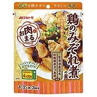 マルトモ お肉まる 鶏のみぞれ煮の素 (40g×3袋)×10袋入