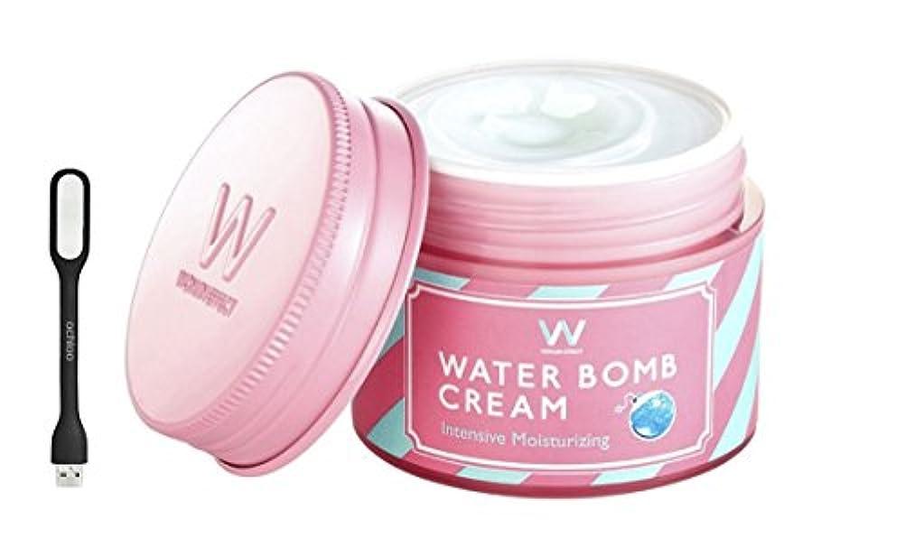 頬骨泥だらけ操作WONJIN EFFECT ウォンジンエフェクト水爆弾クリーム/ウォーターボムクリーム [Water Bomb Cream] - 50ml, 1.69 fl. oz.+ Ochloo logo led
