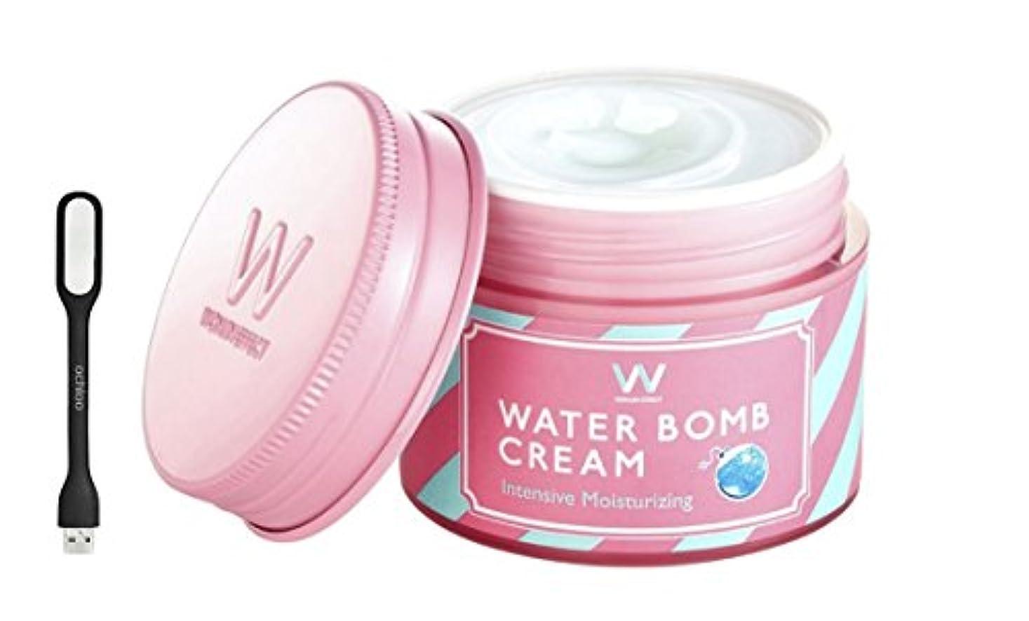 気候なぜならアラブWONJIN EFFECT ウォンジンエフェクト水爆弾クリーム/ウォーターボムクリーム [Water Bomb Cream] - 50ml, 1.69 fl. oz.+ Ochloo logo led
