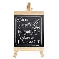 20 * 36センチバー三角形ブラケット木製描画ボードショップ看板ホームミニメッセージボード小さな黒板誕生日レコード装飾看板壁装飾