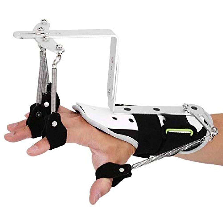 光電骨の折れる振るう指の怪我のサポート、関節炎用の中立2本指片麻痺リハビリテーション機器用の指副木