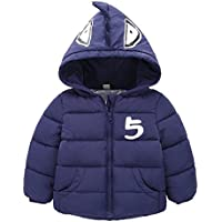 Gaorui Baby-Boys' Outerwear Hooded Coats Winter Jacket Clothes Long Fleece Trench Thicken Parka Clothing