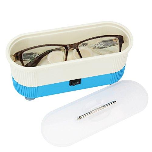 AKARUI メガネ洗浄機 眼鏡洗浄機 メガネクリーナー メガネ コンタクトレンズ 金属アクセサリー 対応可能 日用小物クリーナー