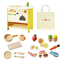 森の遊び道具 憧れのアイランドキッチンセット 3才 女の子用 プレゼント おもちゃ