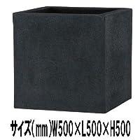 プランター 植木鉢 大型 プラスチック製 植木鉢 BLチェルトンハム 50×50×50 底穴あり