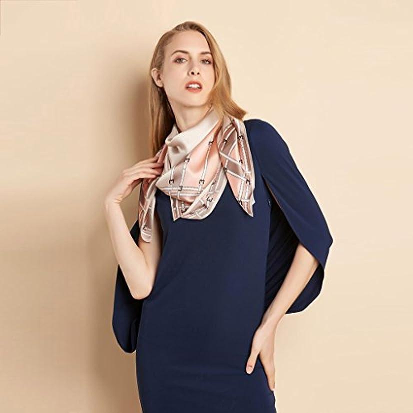 予測するなんでも厄介なGAODUZI さんの豪華なシルクシルクシルクスカーフ春と秋のスカーフ ( 色 : A )