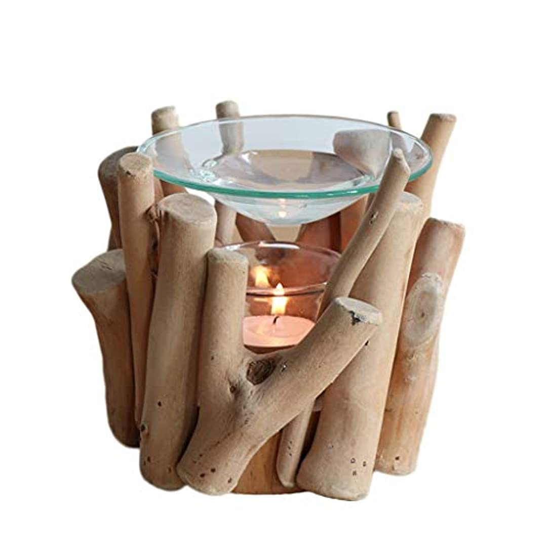 家庭用木材香ホルダーエッセンシャルオイルアロマ燭台香バーナー寝室アロマセラピー炉香バーナーホルダー (Color : A)