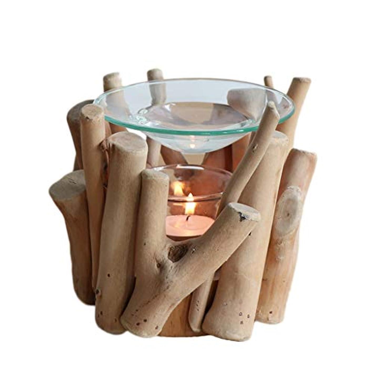 企業忘れる花家庭用木材香ホルダーエッセンシャルオイルアロマ燭台香バーナー寝室アロマセラピー炉香バーナーホルダー (Color : A)