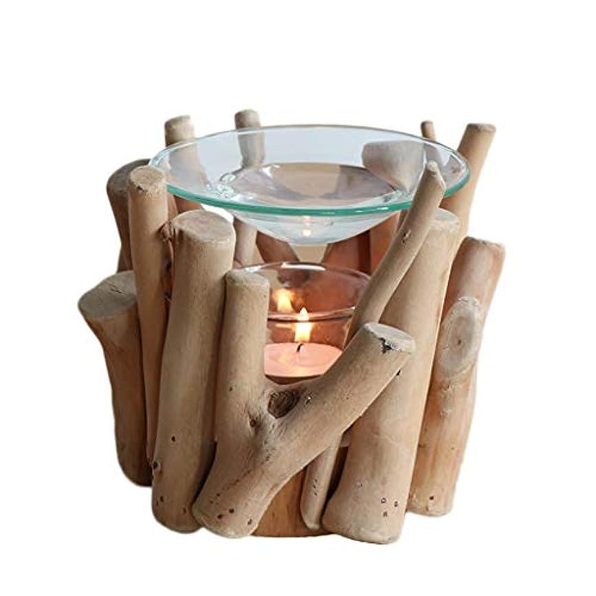 合成瞑想近く純木香ホルダーエッセンシャルオイル香バーナーホームフレグランスアロマセラピー寝室家庭用香オイルバーナー (Color : D)