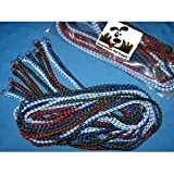 Durable Braided Poly Dog Slip Leads, Animal Control Kennel 5 FT Slip Leads, Strong Leashes for Dogs, Grooming, Shelter, Rescu