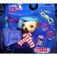 Exclusive Littlest Pet Shop (リトルペットショップ) Single Frenchie Dog with lots of accessories!!!(並行輸入)