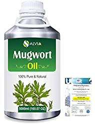 Mugwort (Artemisia vulgaris) 100% Natural Pure Essential Oil 5000ml/169fl.oz.