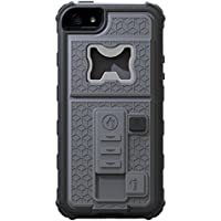 RONNEY'S Multifunctional With Cigarette Lighter & Bottle/Beer Opener Case Cover for IPhone 6/66 GREY