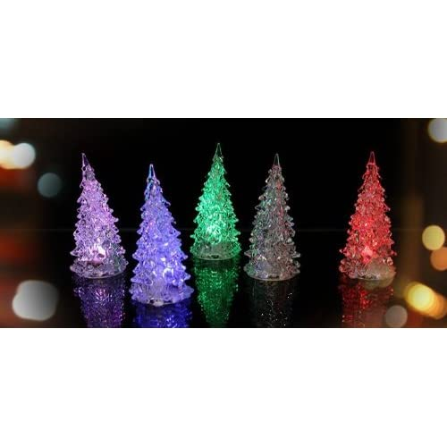 Lifedesign かわいい! LED イルミネーション ツリー クリスマス インテリアに (レインボー)