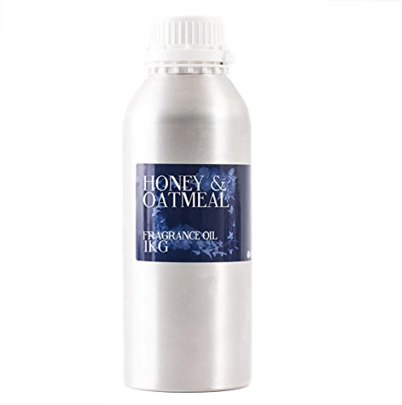 お酒生産的ウェイターMystic Moments | Honey & Oatmeal Fragrance Oil - 1Kg