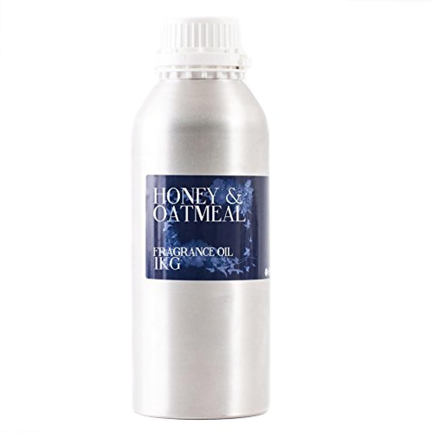 息切れ一目騙すMystic Moments | Honey & Oatmeal Fragrance Oil - 1Kg