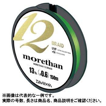 ダイワ(Daiwa) PEライン シーバス モアザン 12ブレイド 150m 0.8号 16lb ライムグリーン