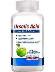 ウルソル酸(ウルソール酸)ローズマリー抽出サプリ 120カプセル[海外直送品]