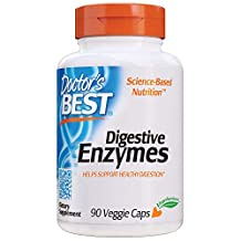 Doctor's Best Digestive Enzymes, Veggie Caps, 90ct