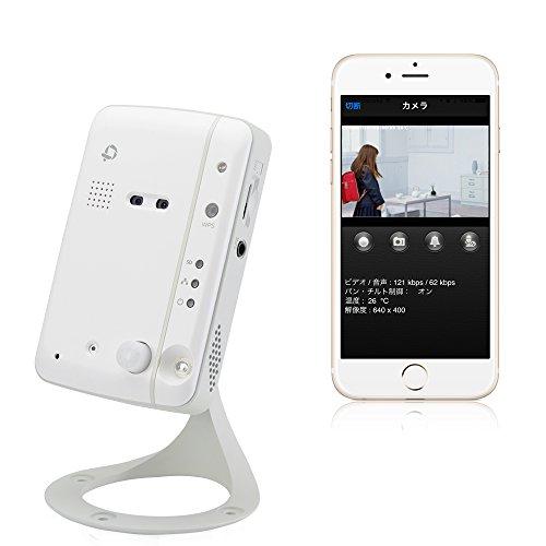 PLANEX カメラ一発! 無線ネットワークカメラ 100万画素/暗視撮影/赤外線(熱感知)センサー/温度計 CS-W60HD iPhone・iPad・Android・Windows対応