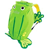 Trunki Ribbit the Frog Paddlepak Children's Backpack, Green, Medium