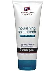 Neutrogena Norwegian Formula Nourishing Foot Cream For Dry Or Damaged Feet 100ml - 100ミリリットル乾燥または損傷した足のためのニュートロジーナノルウェー...
