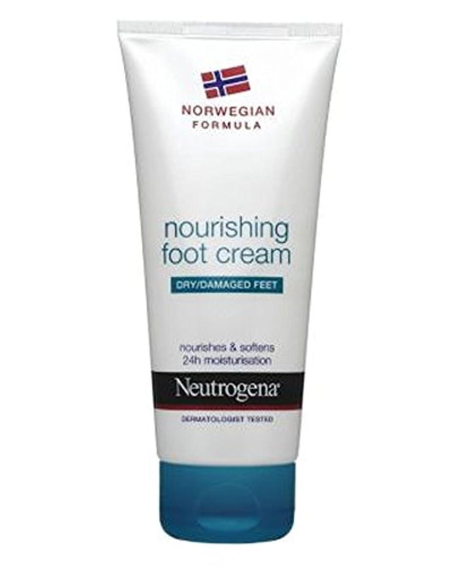低い微生物出演者Neutrogena Norwegian Formula Nourishing Foot Cream For Dry Or Damaged Feet 100ml - 100ミリリットル乾燥または損傷した足のためのニュートロジーナノルウェー...